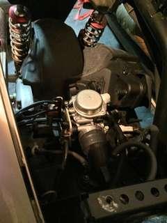 勁戰二代化油器cvk30