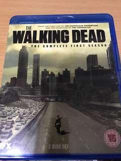 🚚 The walking dead season 1 (blu-Ray)