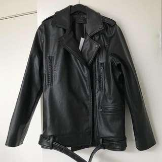 Oak & Fort Leather Jacket