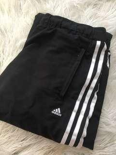 Adidas 3stripe track pants