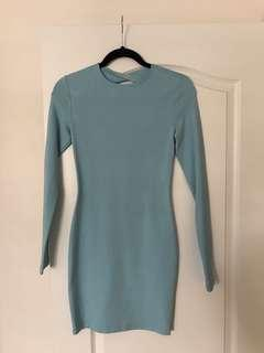 KITTENISH Baby Blue Dress