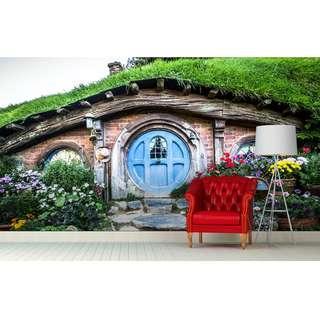 The Hobbit Shire Wall Mural Arts