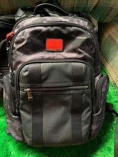 TUMI alpha bravo nelis backpack Charcoal restoration