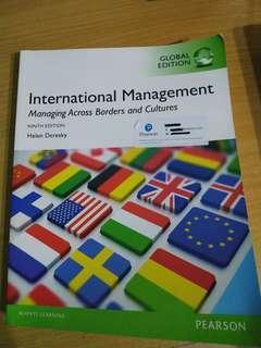 International Management: Managing Across Borders & Culturr