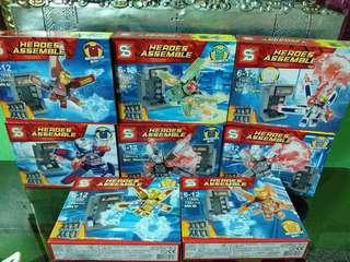LEGO Iron Man Hall of Armor Pods