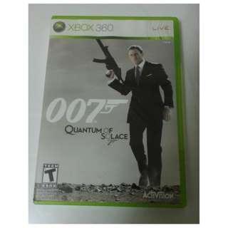 🚚 詹姆士龐德 007 量子危機 XBOX 360 Quantum Of Solace