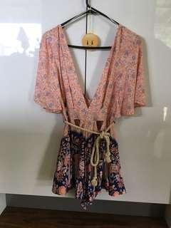New Plunge Playsuit