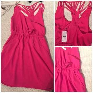 NWT Pink Casual Dress - Medium