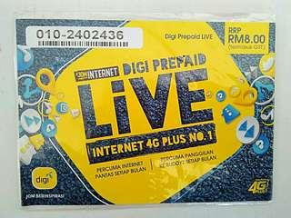 VIP PREPAID NUMBER FOR SALE