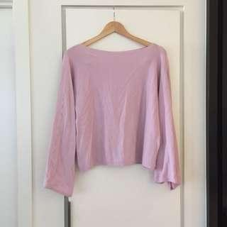 Size 6-12 pink sweater