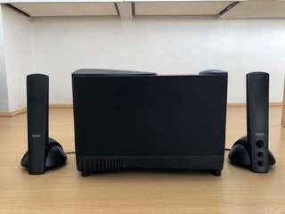 Altec Lansing ATP-3 3-Piece Speaker System