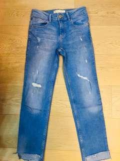 Zara Girls Jeans size 8 128cm