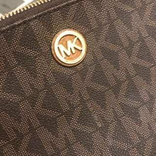 Mk Michael Kors pouch wallet make up bag