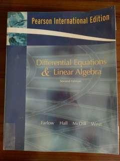 Differential Equations and Linear Algebra (2nd edition) by Farlow, Hall, McDill, West