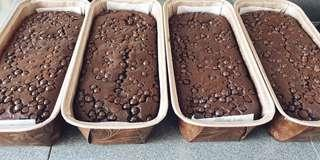 🚚 Double chocolate Banana loaf Old Fashioned Brownies