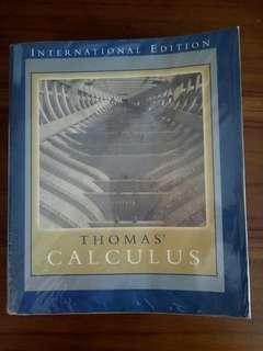 Thomas' Calculus (11th Edition) by Weir, Hass, Giordano