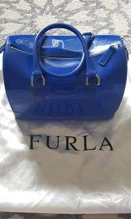 Preloved authentic furla jelly bag- made in italy