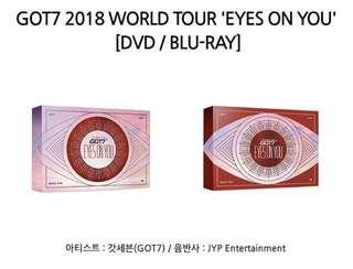 Got7 EYES ON YOU DVD and blu-Ray