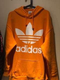 Adidas三葉草大logo帽踢