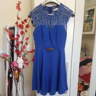 Royal blue dress sz10