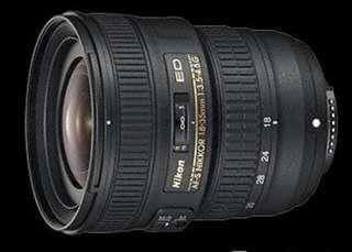 Nikon AF-S 18-35mm f/3.5-4.5G ED G 鏡 FX