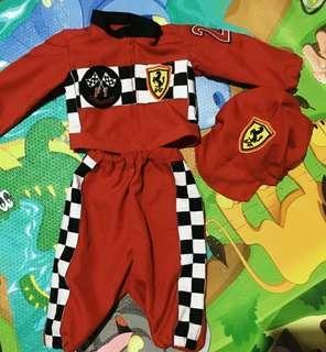 Racing costume