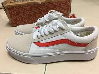 46e9a75b0 Vans Old Skool (White Red)  prefer picture