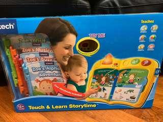 Vtech 玩具 vtech learn and touxh storytime