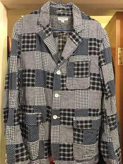 Engineered Garments Patchwork 4B Jacket Size M