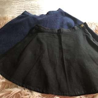 American apparel A line skirts