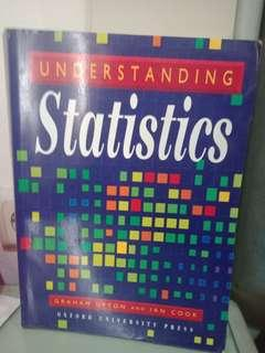Understanding Statistics by Graham Upton and Ian Cook