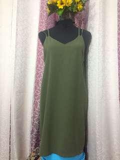 OLIVER Green Maxi Dress