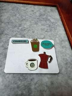 Starbucks Thailand 2018 Collar Pin