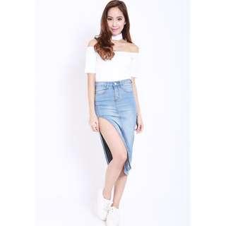 🚚 Carrislabelle Denim Skirt