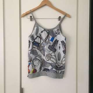 Size 6-8 summer grey top
