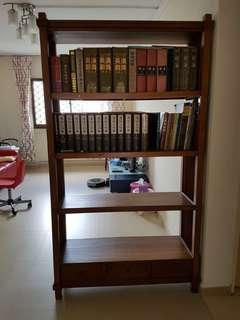 SOLID wooden bookshelf, solid wood, cheap sale