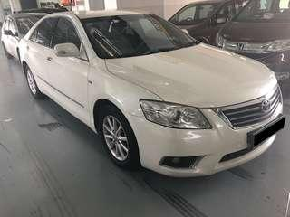 Pearl White 2.4 Camry! PHV/Personal Usage available!