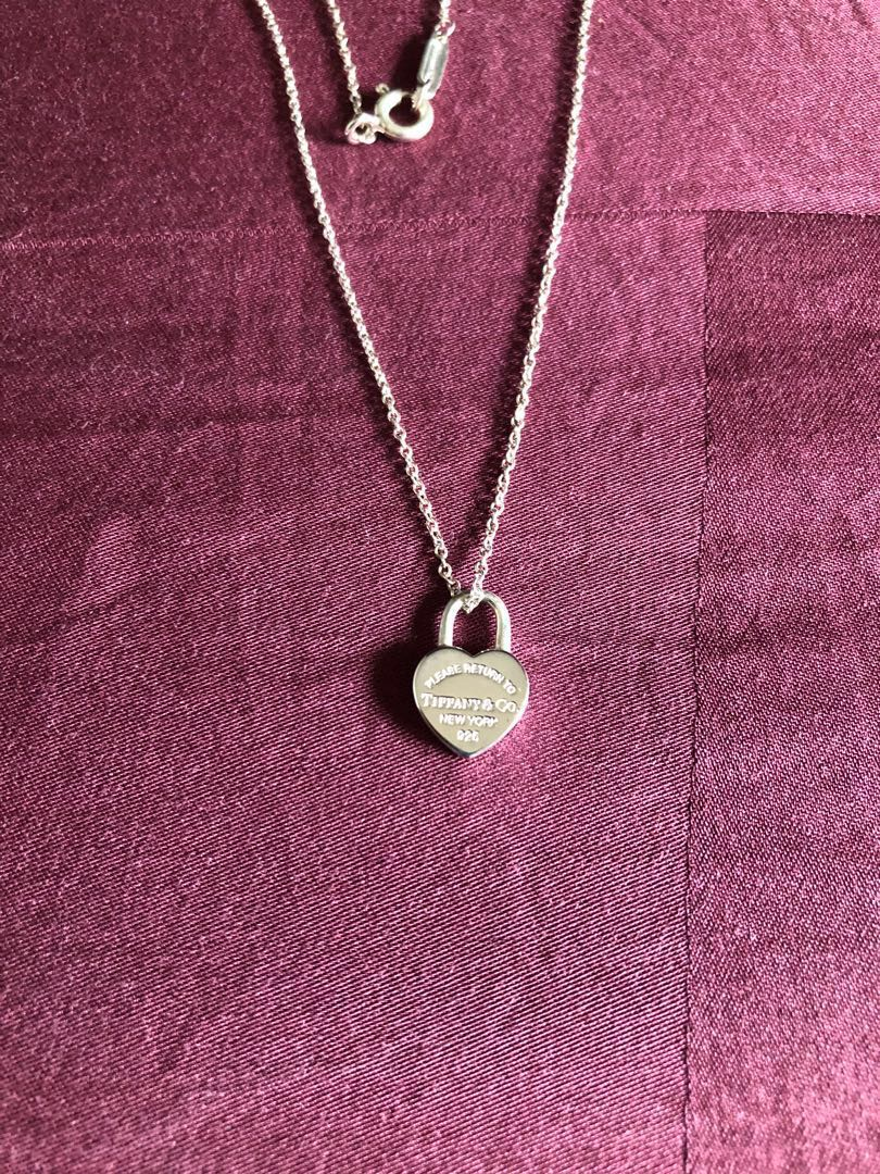 8531833053d86 100% Authentic Tiffany & Co necklace (Brand New), Luxury ...