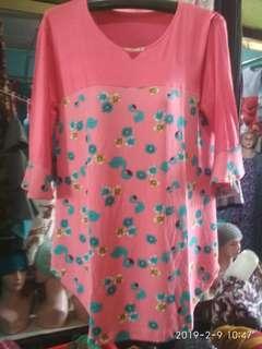 Baju motif bunga angsa
