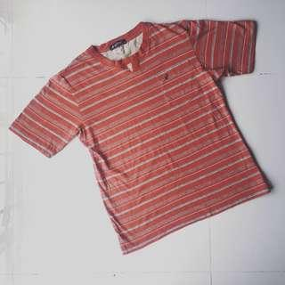 Kangol stripe shirt
