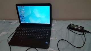 Sony vaio laptop core i5 4cpus quadcore