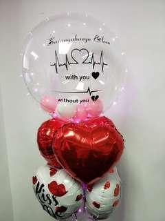 Valentine's day gift custom balloon