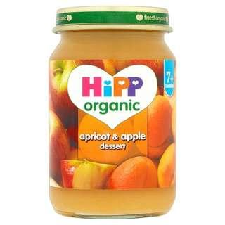 HiPP Organic Apricots and Apple
