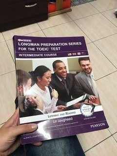 🚚 多益題目參考書/longman preparation series for the Tori's test#我要賣課本