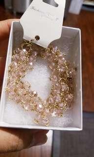 Crystal Nude Pink Bracelet