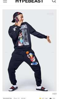H&M x Moschino Jogger Pants