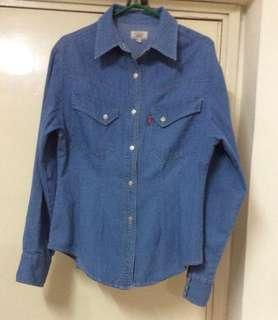 FORNARI 牛仔衫Size:L