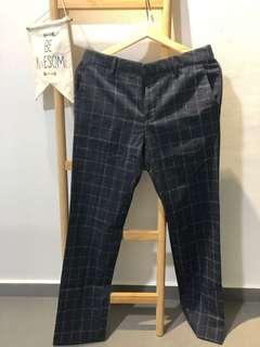 Topman Navy Blue Pants