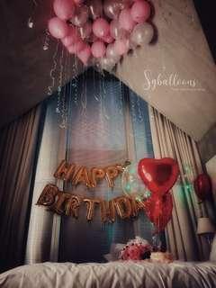 🚚 Helium balloons
