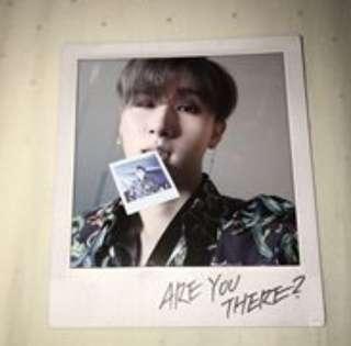 WTB Monsta X Are You There? Take 1 polaroids